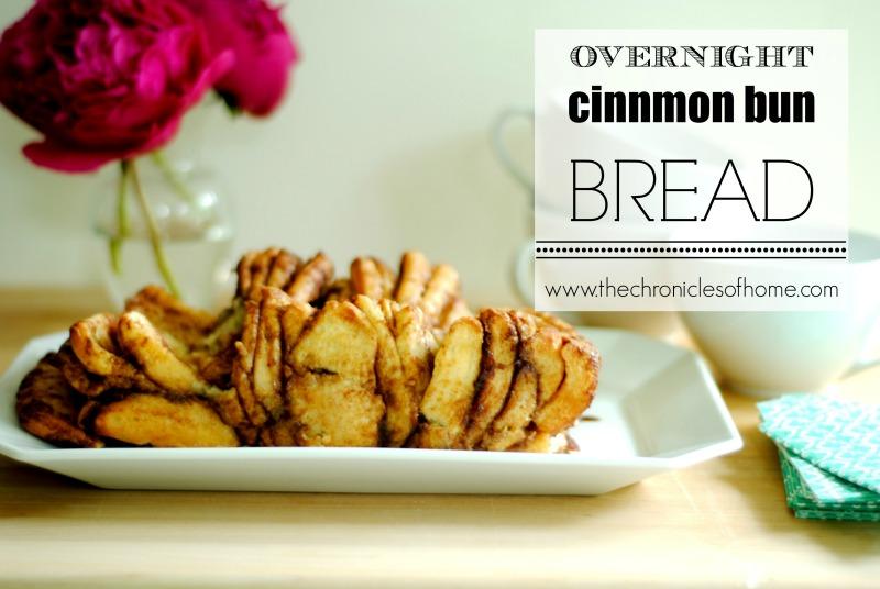 Overnight Cinnamon Bun Bread