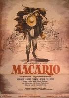 Cartel de Macario (Roberto Gavaldón, 1960)