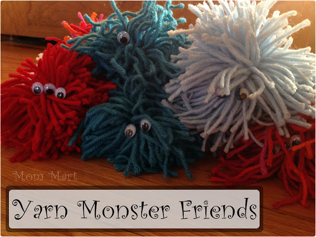make a yarn monster friend