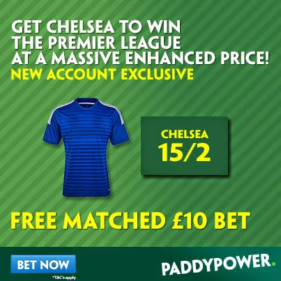 Huge Odds on Chelsea