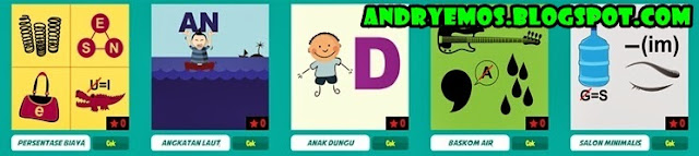 Kunci Jawaban Game Tebak Gambar Android Level 3