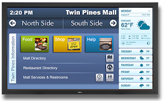 NEC Revealed a 42-Inch V423-TM Touch Integrated LCD Screen