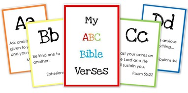 thy word abc bible verse cards