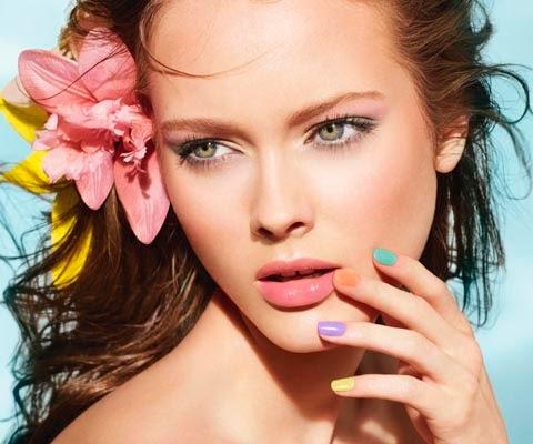 Uñas color pastel, primavera/verano 2014