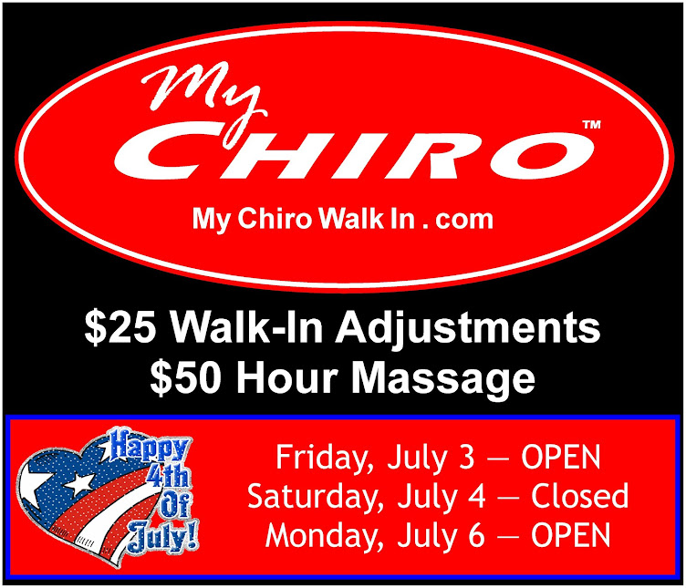 My Chiro Walk In