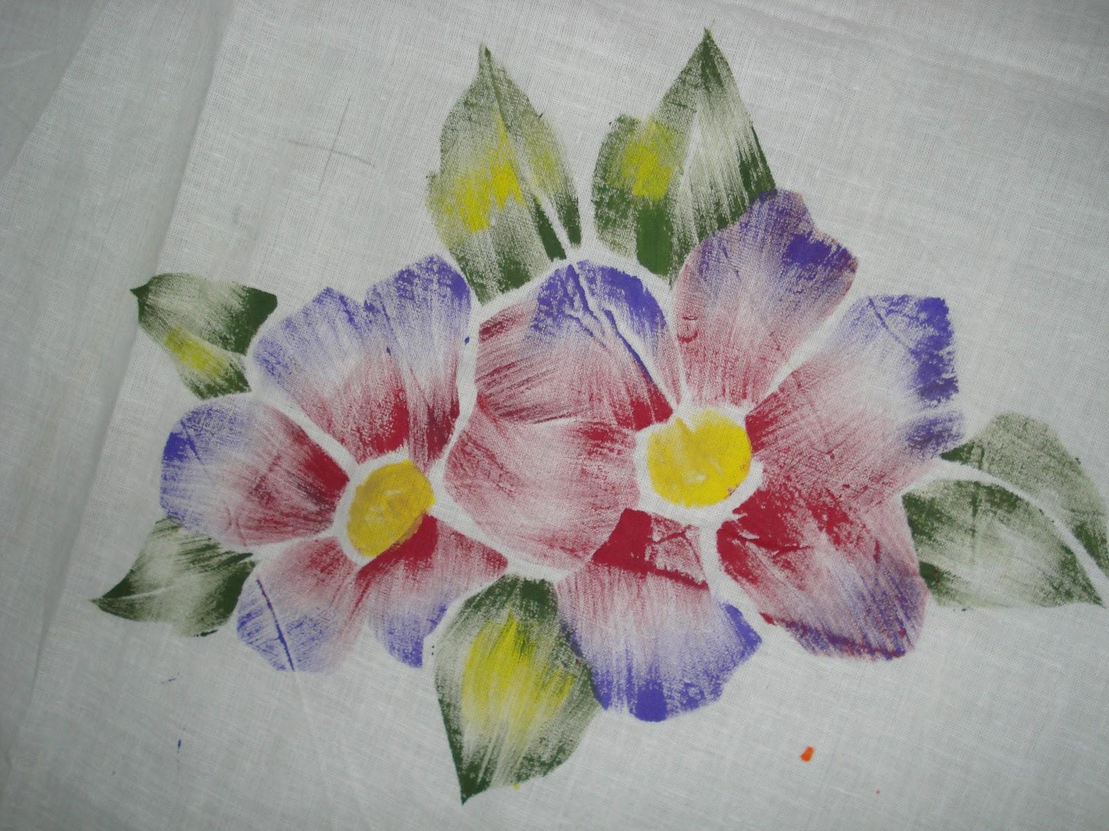 Indian Handmade Items Fabric Painting
