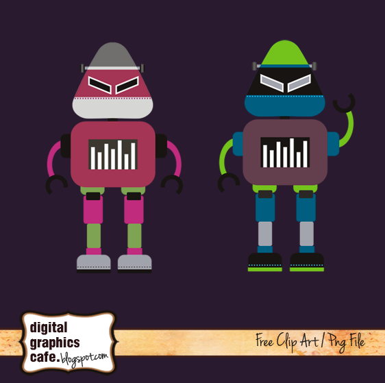 free robots clipart