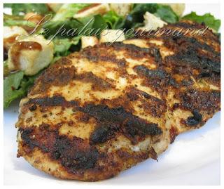 Cuisses de poulet à la portugaise sur le bbq