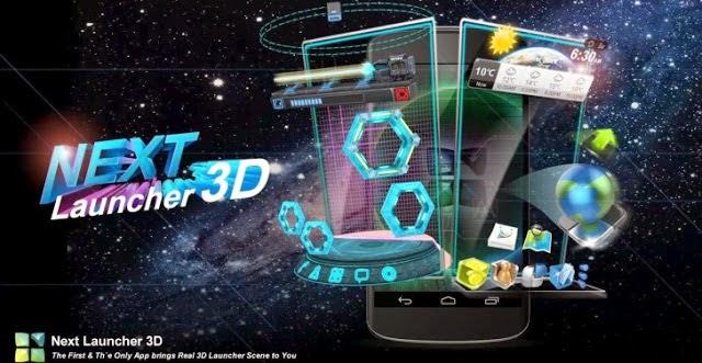 Next Launcher 3D Shell Apk v3.08 Apps
