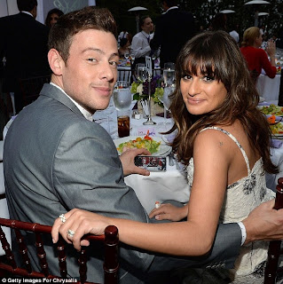 Lea Michele, Cory Monteith death,