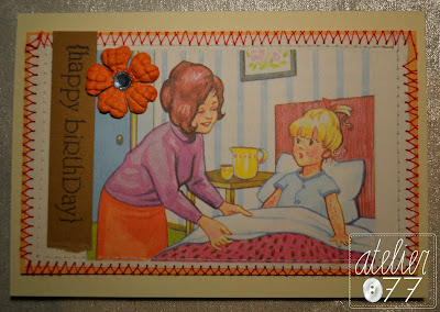 atelier077 vintage card cards