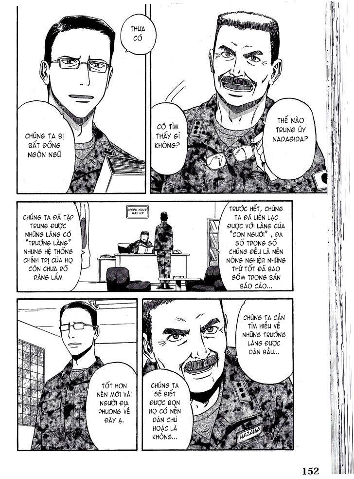 Gate – Jietai Kare no Chi nite, Kaku Tatakeri chap 7 Trang 10 - Mangak.info