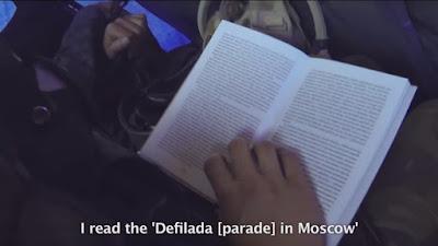 Читання під час дорогиу перше відрядження до АТО
