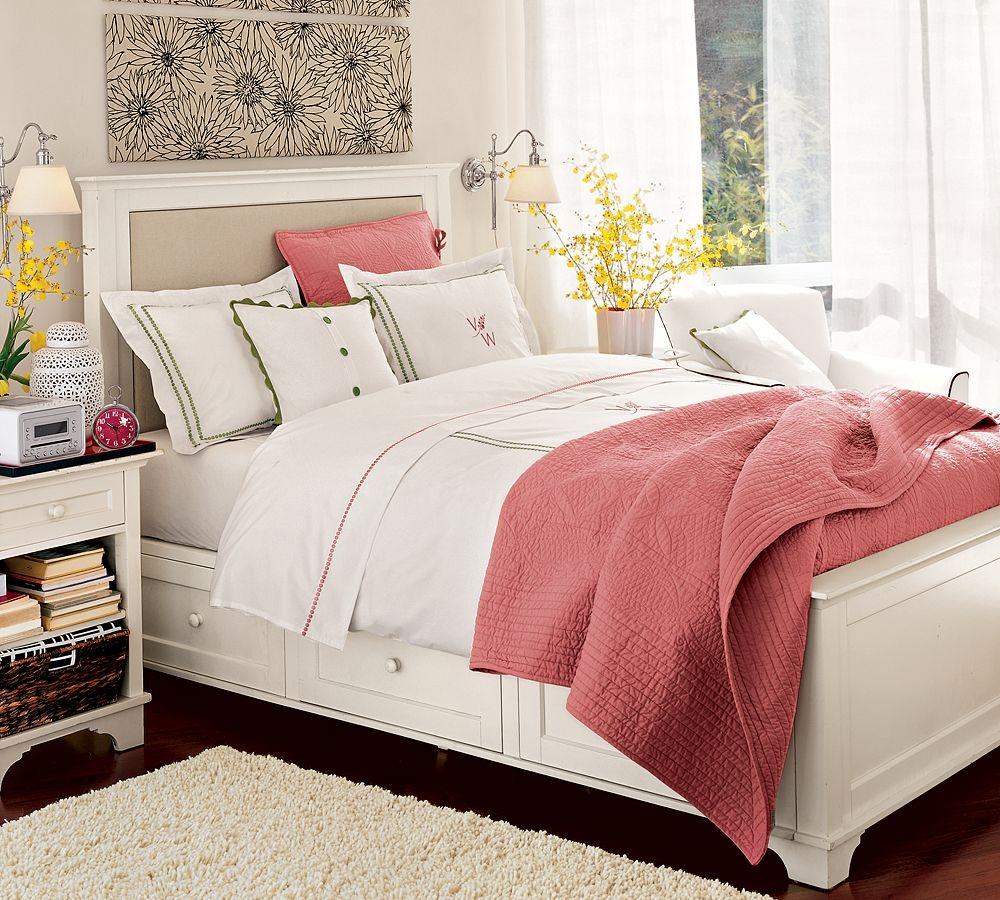 Hermosos dormitorios acogedores dormitorios con estilo - Dormitorios en color blanco ...