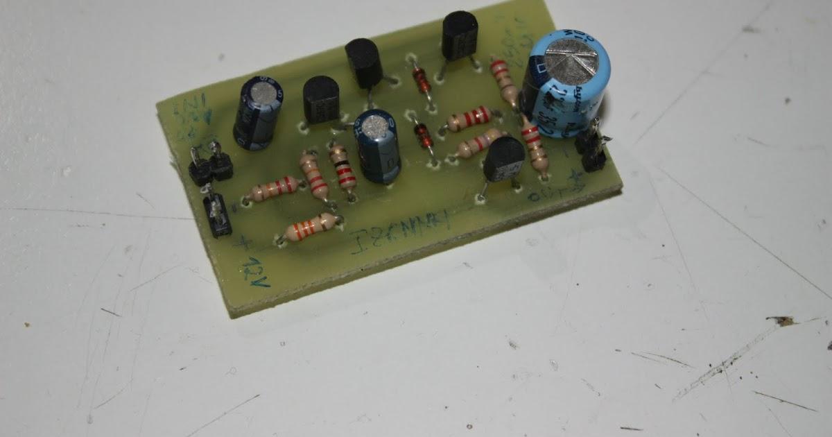 Circuito Lc : Creazioni varie amplificatore audio mw e circuito lc