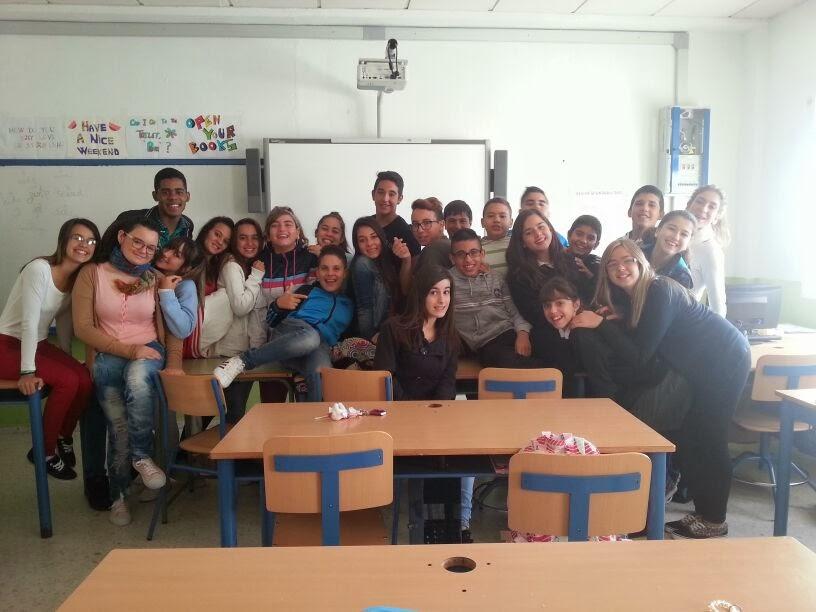 2º ESO D students 2013-2014