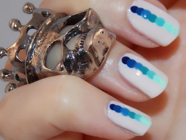 nail art shades of blue blog beauté psychosexy