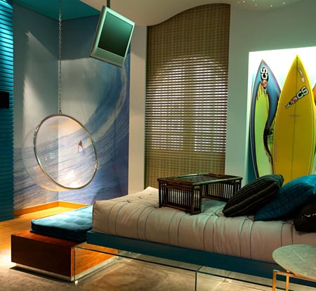DORMITORIOS SURFISTAS surfing bedrooms