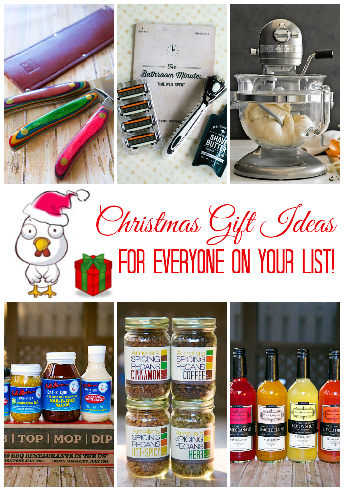 Christmas Gift Ideas in all price ranges for everyone on your list!