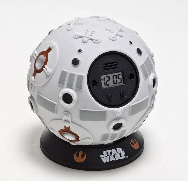 Reloj despertador Star Wars Bola de entrenamiento Jedi