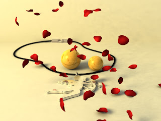 Smilies in Love Love Wallpaper