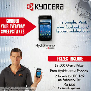 "Kyocera ""Conquer Your Everyday"" Sweepstakes"