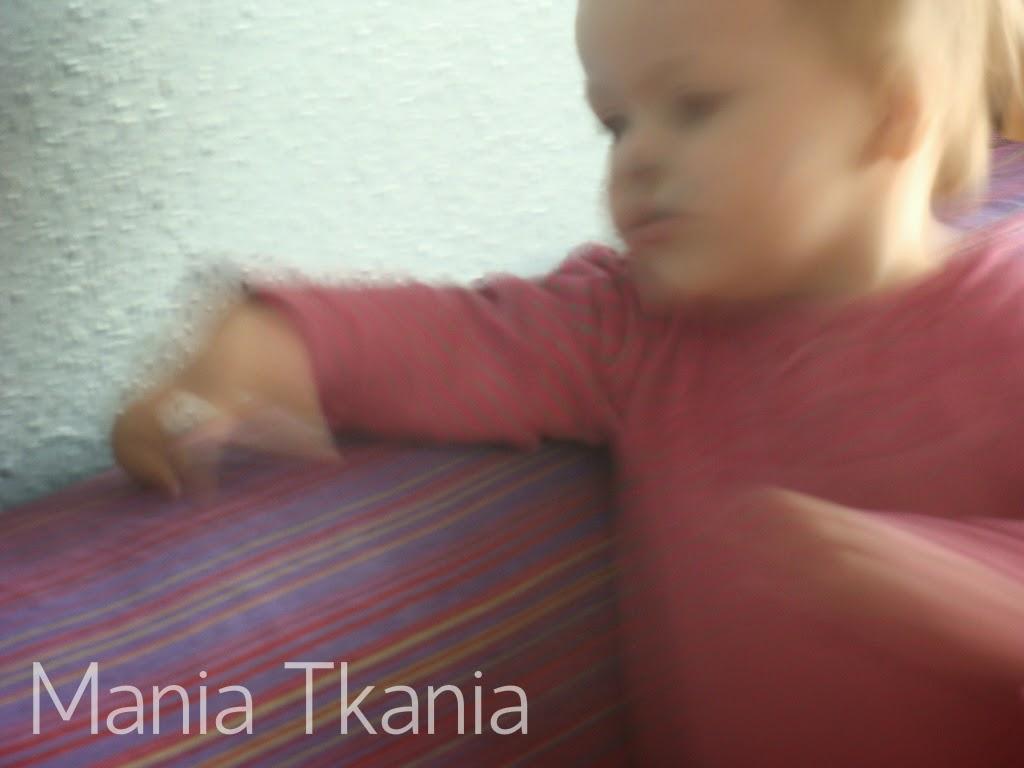 ręcznie tkana chusta do noszenia dziecka / handwoven baby wrap