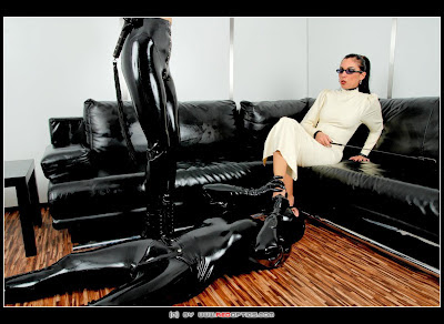 Stella van Gent and Lara van Orten Latex Mistresses