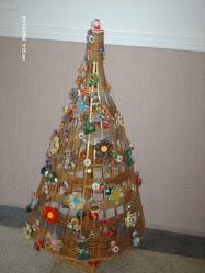 Árvore que eu fiz para o Natal passado.