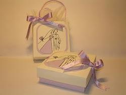 Partecipazioni cuore in scatola e segnaposto