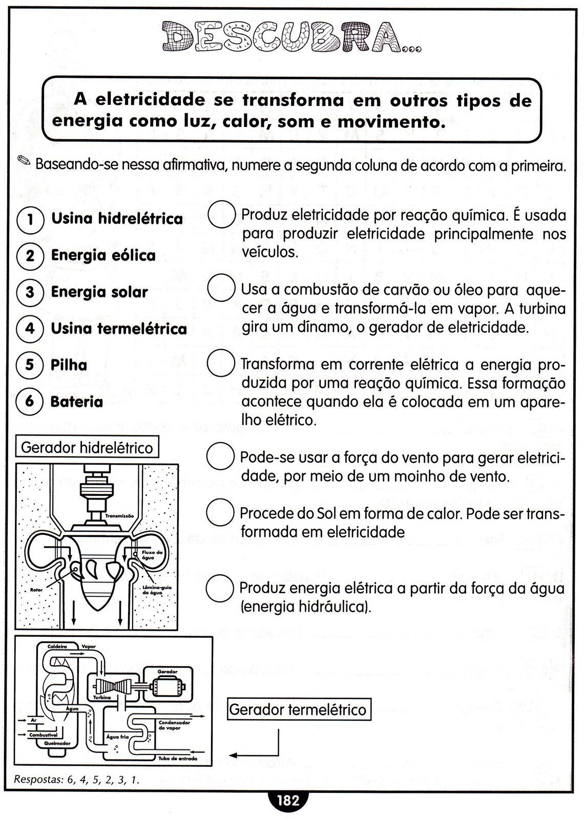 Excepcional Blog Professor Zezinho : Diversas Atividades e Exercícios de  RC96
