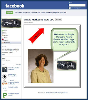 'Like' Simple Marketing Now on Facebook: Get 20 Tips