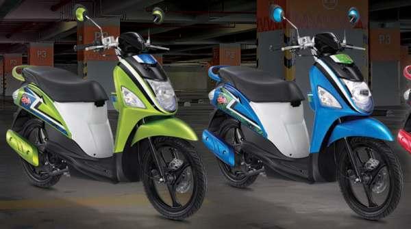 Motor Matik Suzuki terbaru 2012