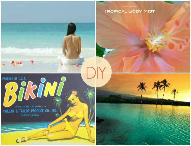 DIY Tropical Body Mist