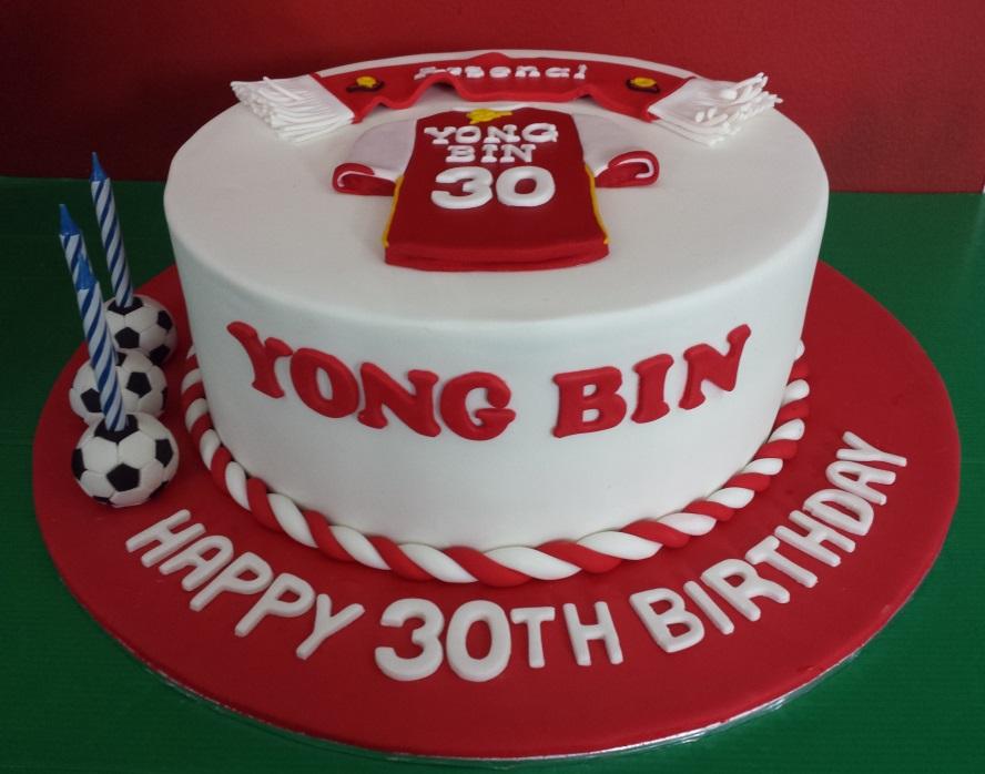 Yochana s Cake Delight! : Football cake
