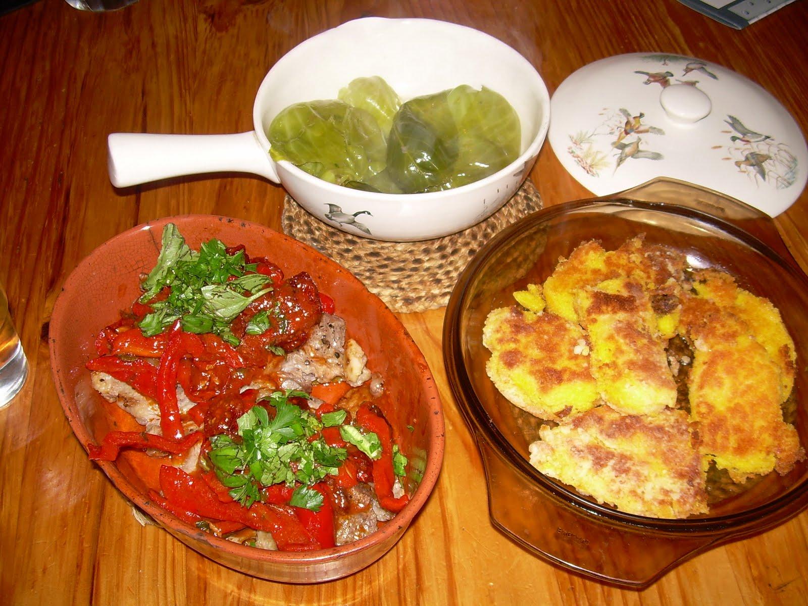 A la mode frangourou home made millas toulouse cornmeal fritters - Cuisine a la mode ...