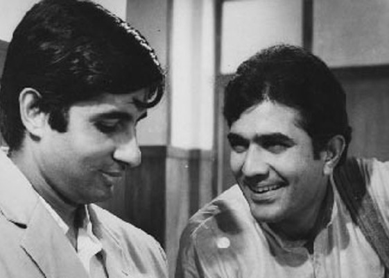 Babumoshai and Rajesh Khanna in Anand, what an emotional movie