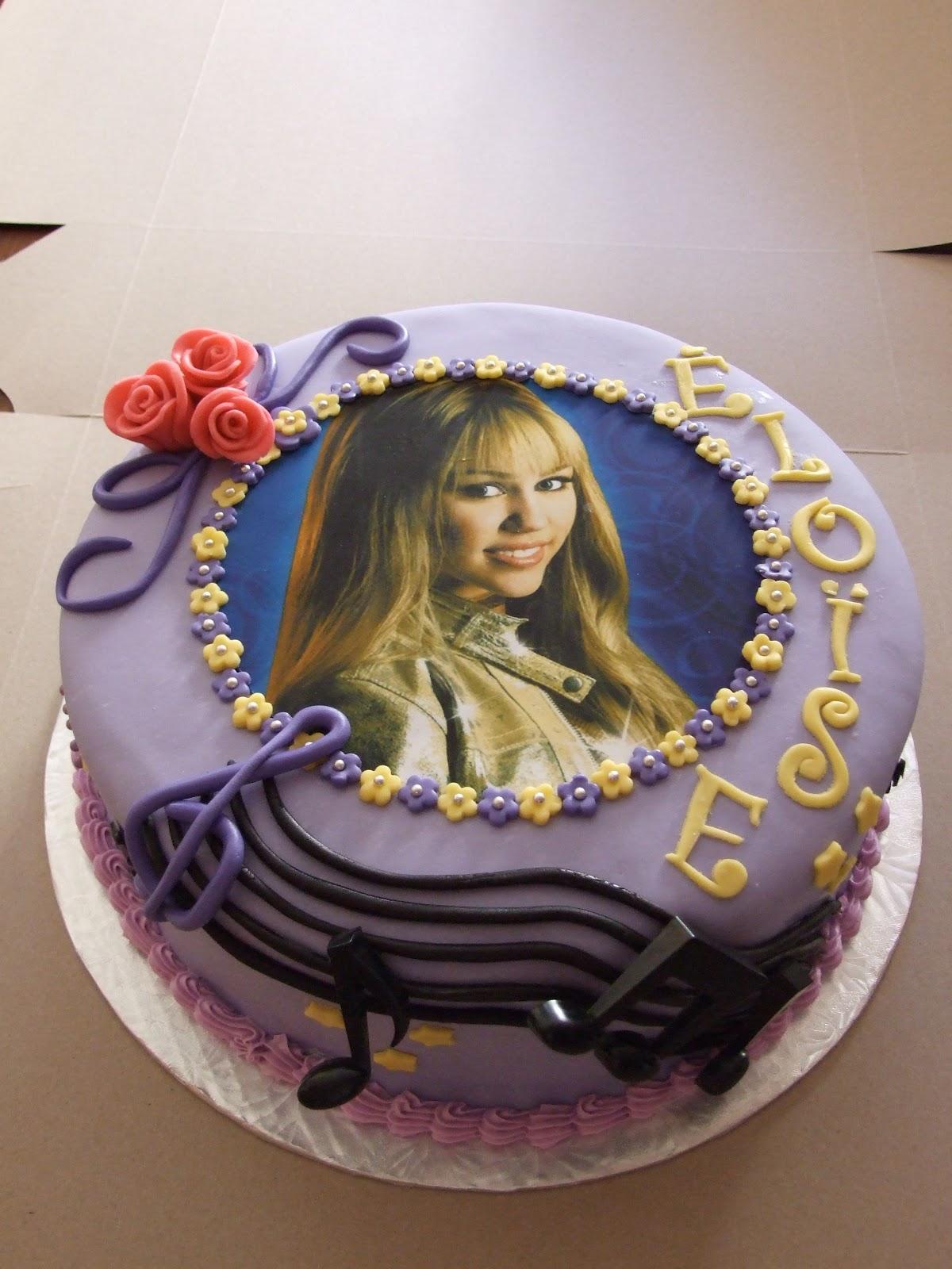 Aux Papilles Sucrées: Hannah Montana