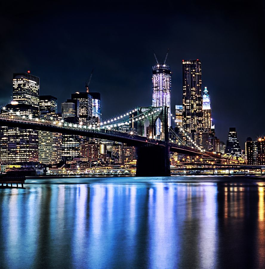 35 stunning photos of new york at night best photography for Stuff to do in nyc at night