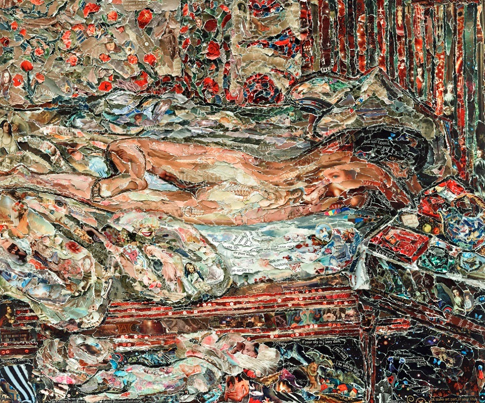 Siesta after Bonnard, Vik Muniz (2011)