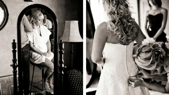 Vintage Navy & Blush Pink Estate Wedding