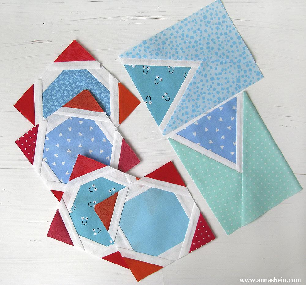 Блоки для детского лоскутного одеяла