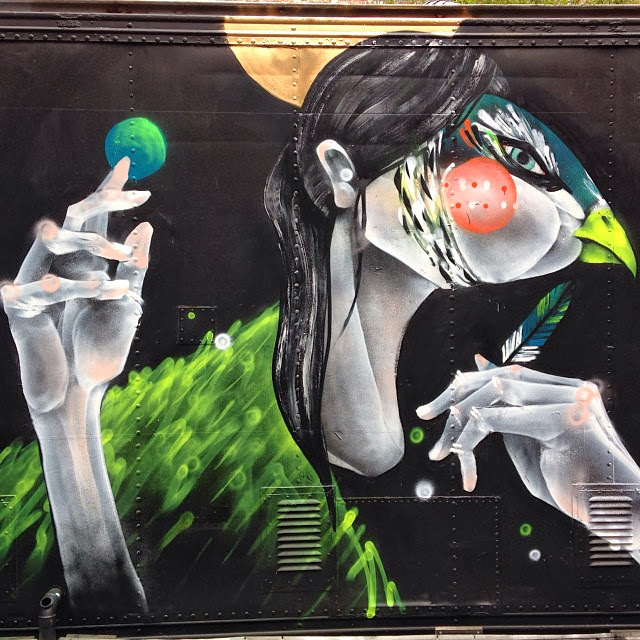 """""""You Can't Lie To Her"""" Newest Street Art Piece By TWOONE In Melbourne, Australia. 3"""