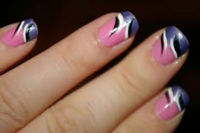 Latest French Nails Designs Pictures