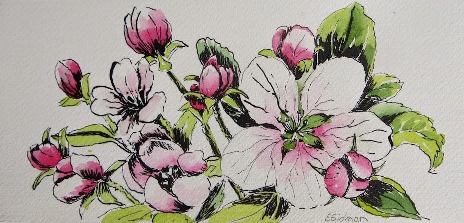EileenGidman: Watercolour & Textile Artist
