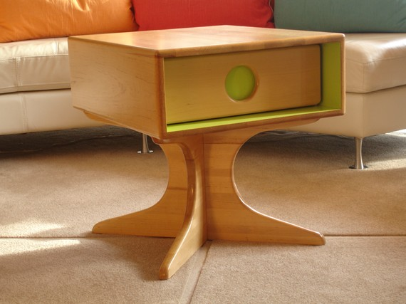 Funky Retro End Table