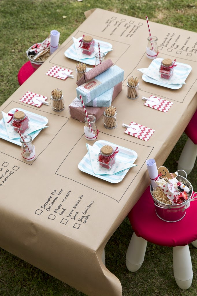 i saw this idea on pinterest by simply sweet soirees and thought it was such a good idea to keep kids entertained whilst at the dinner table