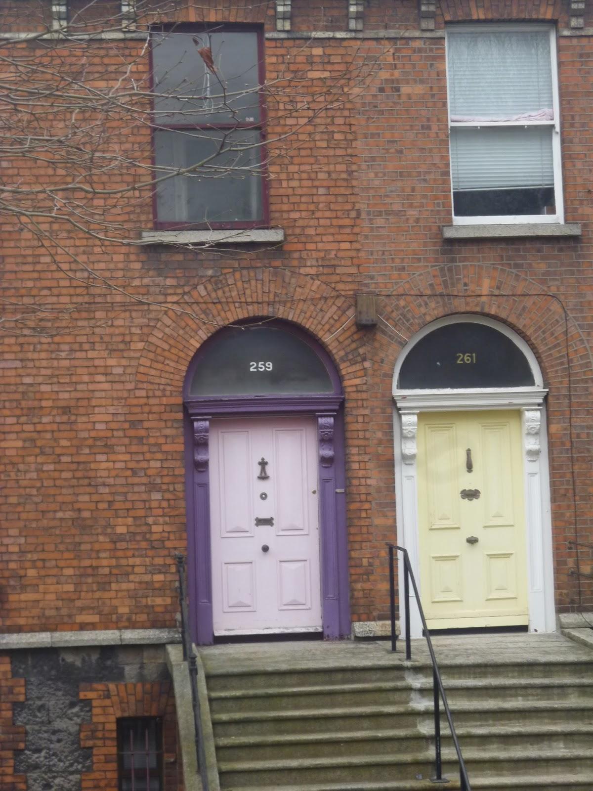 As Coloridas Portas da Irlanda