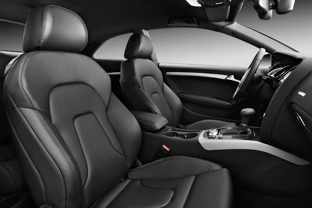 2012 Audi A5 Coupe Front Interior