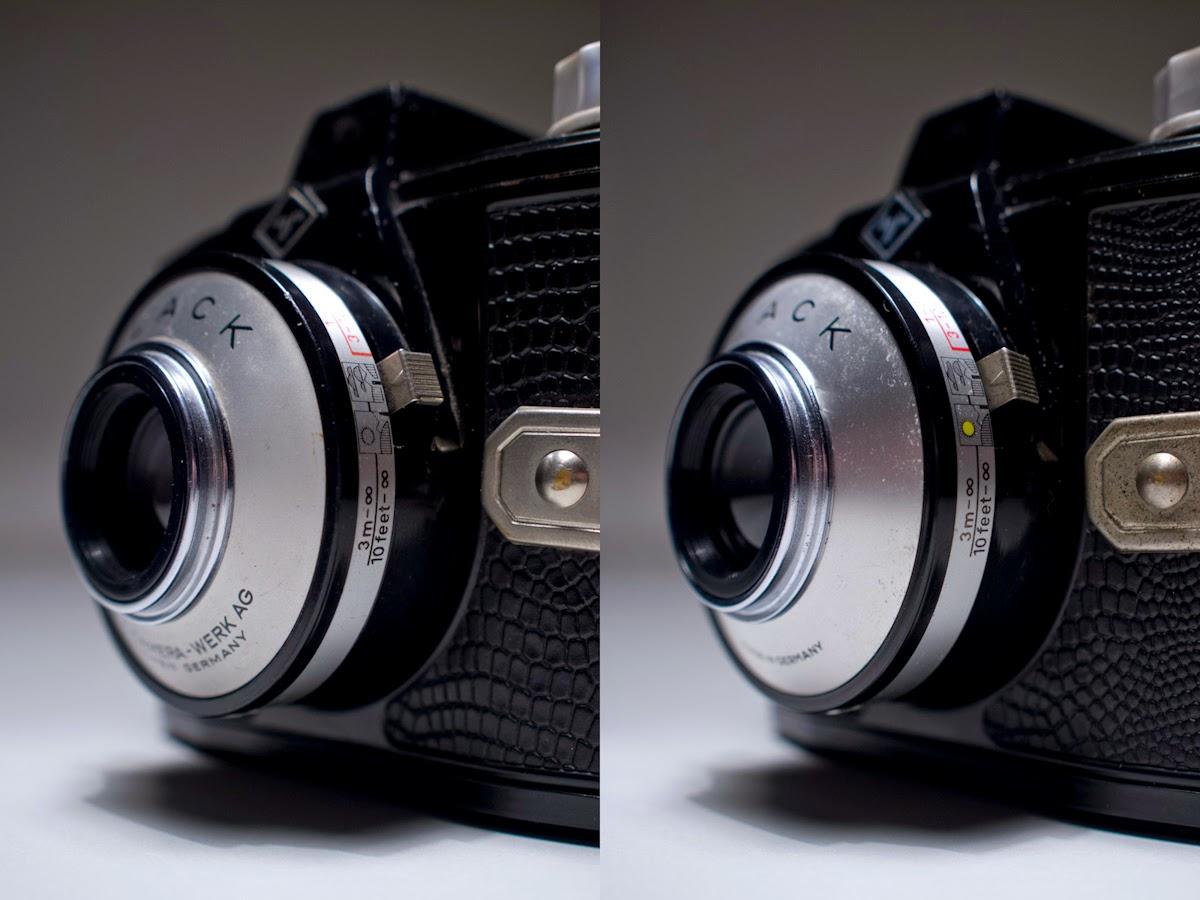 eerste camera ooit